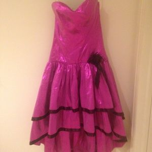 vintage 80's prom dress for halloween costume